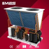 ヒートポンプの給湯装置に水をまく75kw空気