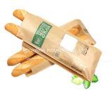 De Niet-toxische Tribune van uitstekende kwaliteit op de Zakken van het Brood van het Document van Kraftpapier met Venster