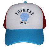 Chapéu feito sob encomenda do camionista do tampão do engranzamento da espuma do verão com logotipo impresso