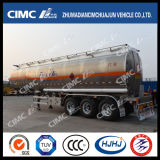 Cimc Huajun細長いShaped Aluminium Alloy FuelかGasoline/LPG/Oil/Liquid Tanker