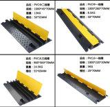 1-5 Kanal-flexible Kabel-Rampe/Gummikabel-Rampe für Fußboden-/Kabel-Rampe