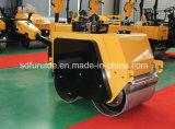 Rodillo doble tambor Mini mano de asfalto a la venta (FYLJ-S600C)