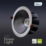 Раунда 30W Высокопроизводительный теплоотвод с длительным сроком службы встраиваемый светодиодный драйвер IC лампа