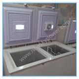 408L 태양 강화된 급속 냉동 냉장실, DC 12V 냉장고, 태양 냉장고