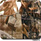Commerce de gros Tsautop 0,5 m/1m de largeur le camouflage et transfert d'eau de l'arbre de l'impression Film film Film Hydro pendage hydrographique Tsmh12518