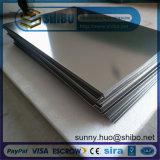 Qualidade elevada de molibdénio (Mo) Folha Utilizado em equipamentos de Vácuo