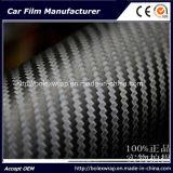 pellicola automatica del vinile dell'involucro dell'automobile della fibra del carbonio 3D