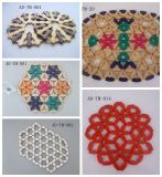 Wood Beads Tapis de table/tapis de table en bambou