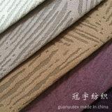 Brûler-Décharger le tissu de velours de cheveu court pour le sofa