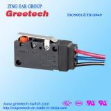 Interruttore impermeabile di alta qualità micro per gli elettrodomestici