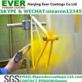 Revêtement en poudre extérieur électrostatique à pulvérisation