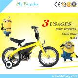 """Bicicleta do triciclo BMX da roda do treinamento do """"trotinette"""" dos miúdos/da bicicleta balanço das crianças"""