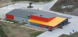 Jardín de Messay hecho en almacén de la estructura de acero de Nz/de China