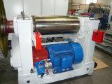 O moinho de mistura de borracha com hidráulico ajusta o moinho de mistura da abertura do rolo