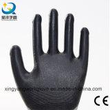 Перчатки покрынные нитрилом трудные защитные промышленные работая (N001)