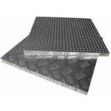 Panneaux en aluminium de nid d'abeilles d'anti glissade (heure P037)