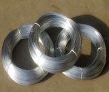 Galvanisé à chaud sur le fil de 2,2 mm, acier galvanisé de 0,7 mm de fil-10kg/rouleau