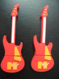 Mini Guitarra USB PVC Flash Disk, Aceite Custom Design