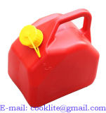 Plastique Jerrycan льет Ou тепловозное Jerrican сути Carburant 5 литров