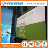 HD veloci installano lo schermo esterno impermeabile dell'affitto LED
