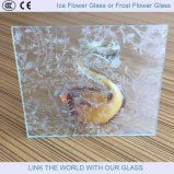 3mm / 4mm / 5mm Ice Flower Design Glass Verre Prismatique avec Ce & ISO9001