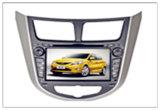 DVD spécial deux voitures DIN pour Hyundai Verna / I25 / Solaris