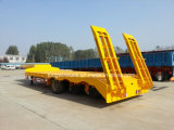 Cimc Brand Low Bed Semi Trailer con Three Axles From Cina