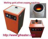 Da indução de derretimento do ouro da fornalha da prata do cobre pequena quantidade de derretimento do bronze etc. da platina