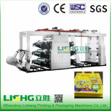 Fertigung von Plastic Film 6 Color Flexo Printing Machine