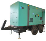 Googol Silent Trailer Diesel Generator 200kw 250kVA mit Druckluftanlasser
