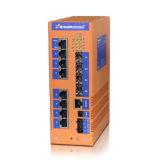 12g-Port Layer 3 Полностью управляемые коммутаторы Ethernet Gigabit