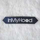 Nice Design Woven Labels 100% Polyester para Acessórios de Vestuário