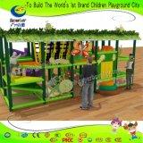 Espiral de tamanho pequeno deslize playground coberto para venda de equipamento