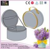 Серый цвет настройка раунда провод фиолетового цвета кожи туалетным столиком (6298)