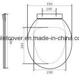 Los asientos de inodoro de bajo coste en dos piezas