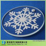 Alta qualità Decorative Glass con Silkscreen Printing per Christmas Tree