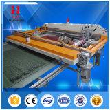 Máquina de impressão de seda automática de tela plana a quente