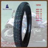 275-17 neumático de nylon estupendo de la motocicleta de la larga vida 6pr de la calidad 250-17