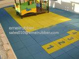 De gerecycleerde RubberBevloering van de Gymnastiek