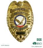2017高品質はダイカストの金属の警察のバッジを