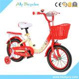 Enfants mignons d'OEM équilibrant la bicyclette avec le coussin et formant des roues