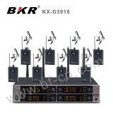 Système sans fil professionnel Kx-D3918 de microphone de haute performance de Digitals