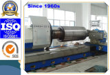 Conventional Heavy Duty Horizontal Lathe for Machining Big Flanges