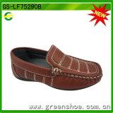 平らな足底の子供の服靴最新のデザイン(GS-LF75290)