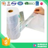 Sacos impressos costume do congelador do HDPE no núcleo de papel