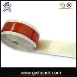 赤いシリコーンの高温炎の抵抗力があるテープ