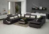 G8008 grand sofa de forme du modèle U pour la salle de séjour