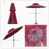 [10فت] مزدوجة سقف مظلة خارجيّ حديقة مظلة