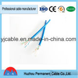 Câble Ethernet de cuivre de Sipu UTP CAT6 4pair, câble de réseau de réseau local de la catégorie 6 pour le réseau Apllication