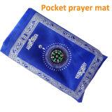 O Islão muçulmano Oração 2013 Tapete de oração muçulmanas de qualidade superior com Qibla Compass Ramadão dons